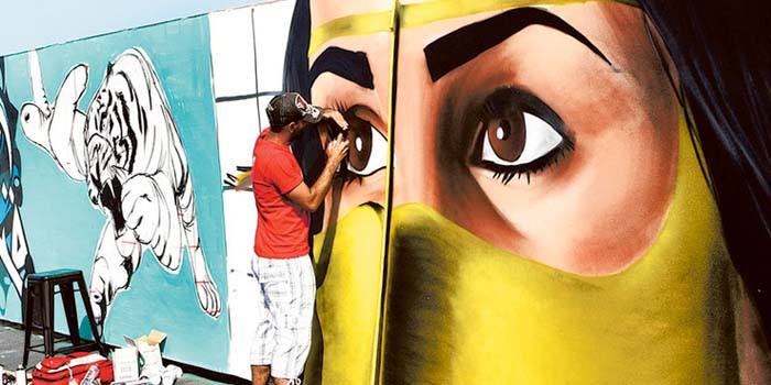 Fusion of Art in Dubai
